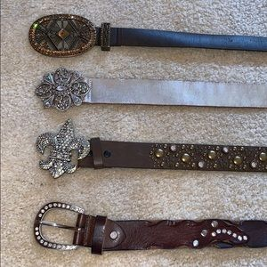 Accessories - 💎 Bling Belt Bundle